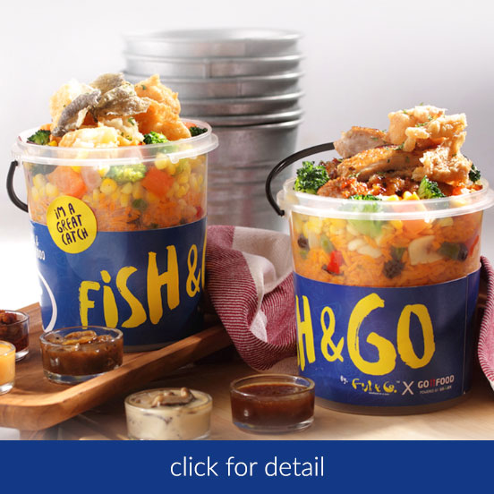Fish&Co. Now Available @ GoFood