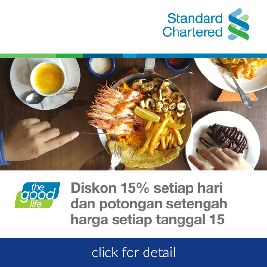 Promo Standard Chartered