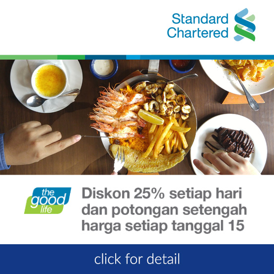 Discount everyday with Standard Chartered