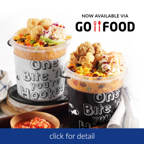 Fish&Co. Seafood Shack Now Available @ GoFood