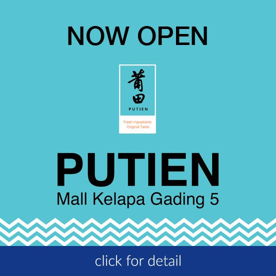 Now Open Putien MKG5